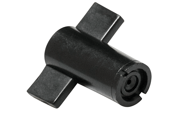 M.R.S. 80° Regendüse Hygro-Düsenkopf schwarz