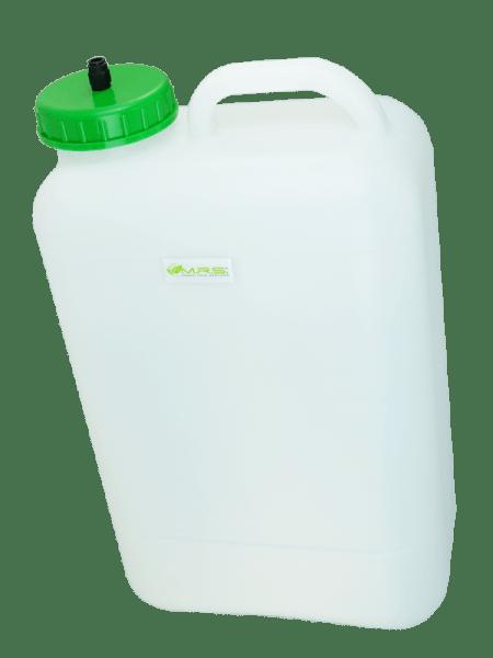 Wassertank 20 Liter Weithalstank inkl. Auslaufstutzen