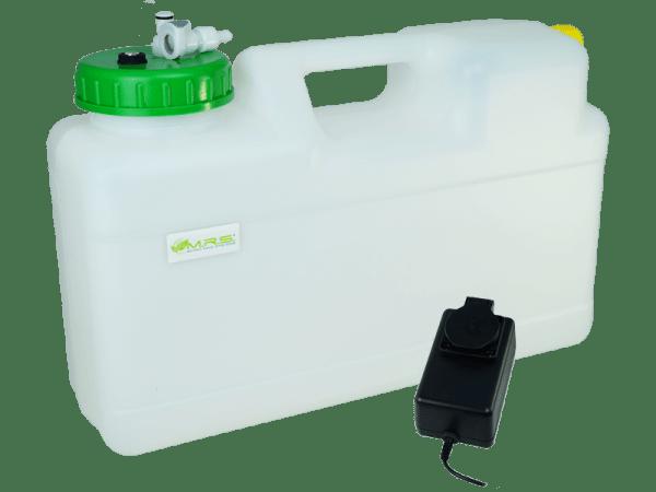 Wassertank 12 Liter mit Trockenlaufschutz, Rapid Quick-S u. Filter