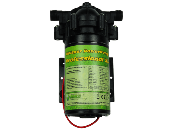 M.R.S. Whisper PowerPump Professional XL 360 LPH