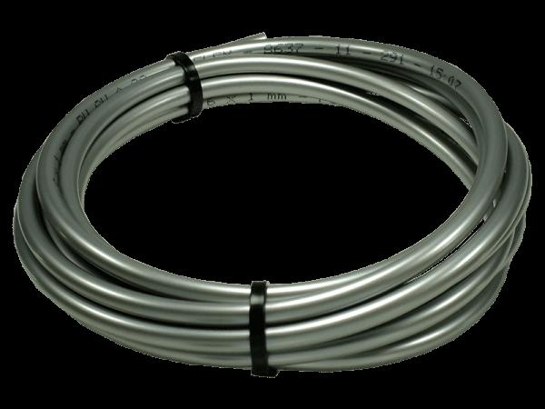 Druckschlauch Beregnungsanlage PU 15 bar silber 6/4 mm