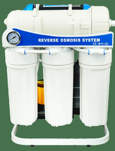 Osmoseanlage 5 Stufen 3200 Liter pro Tag inkl. Druckerhöhungspumpe