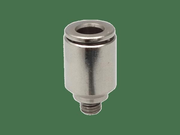 Einschraub - Steckverschraubung Metall M5 - 4 mm