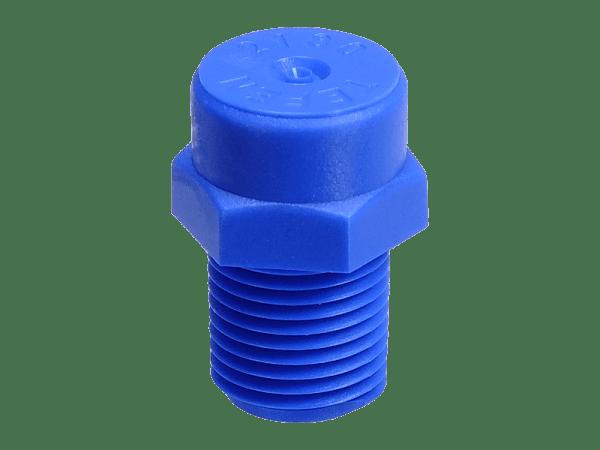 PVC Düsenkopf 80° Sprühregen-Vollkegel