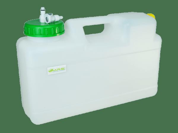 Wassertank 12 Liter Raumspartank mit Rapid Quick-S Anschluss