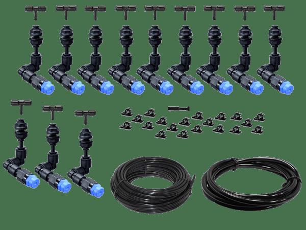 Beregnungsanlage Bausatz Easy-Line mit 12 KS - 360° Düsen