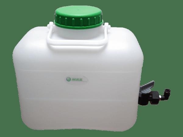 Weithals-Wassertank 10 Liter mit Absperrhahn und Filtersystem