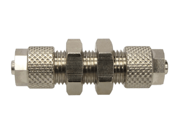 Schottverbinder Schnellverschraubung reduziert 10/8 auf 8/6 mm