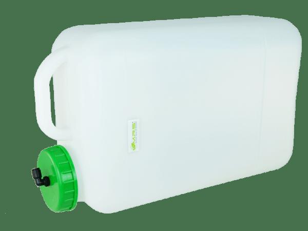 Weithals Wassertank 20 Liter mit Auslaufstutzen u. Filtersystem