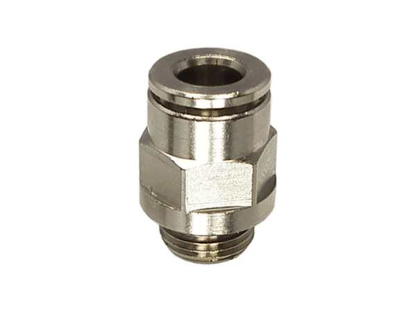 Einschraub-Steckverbinder Metall 1/4 Zoll - 4 mm