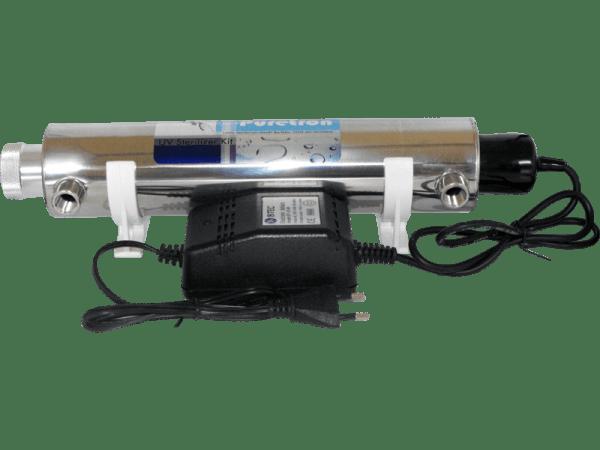 UVC Klärer 14 Watt - Edelstahl