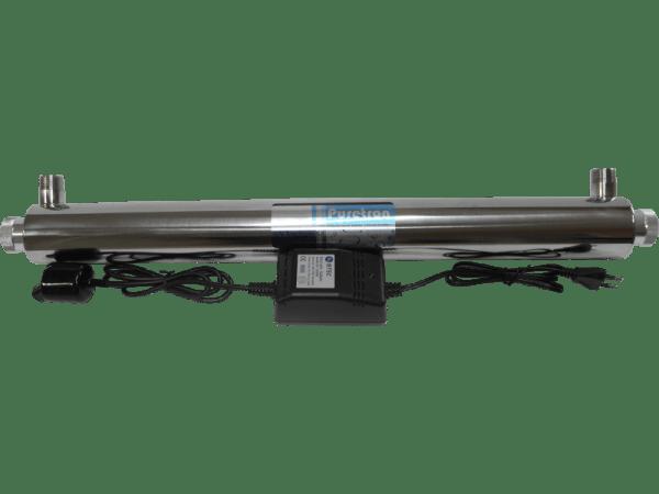 UVC Klärer 24 Watt - Edelstahl